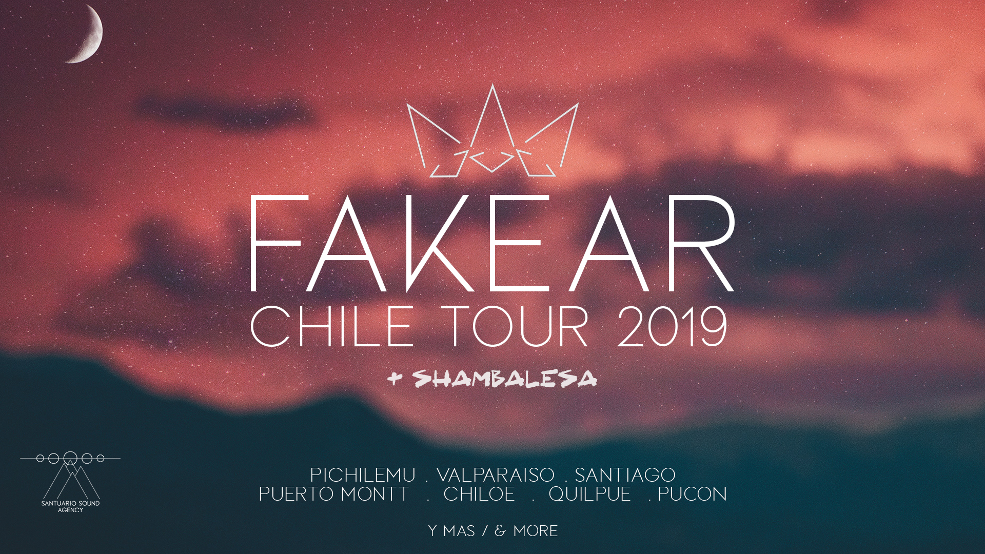 Fakear tour event cover