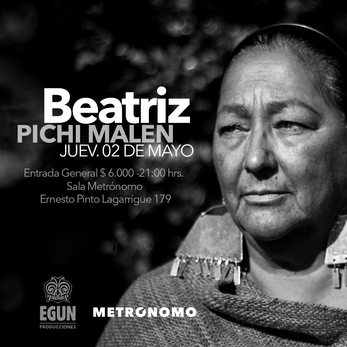 Flyer beatriz pichimalen