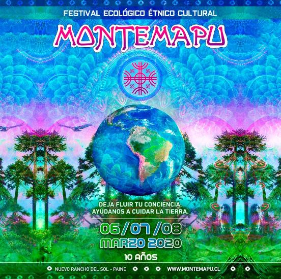 Montemapu flayer entradas 2020