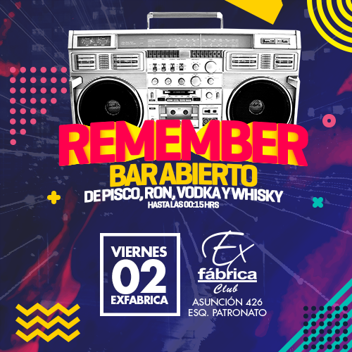 500x500 remember exfabrica viernes 02feb