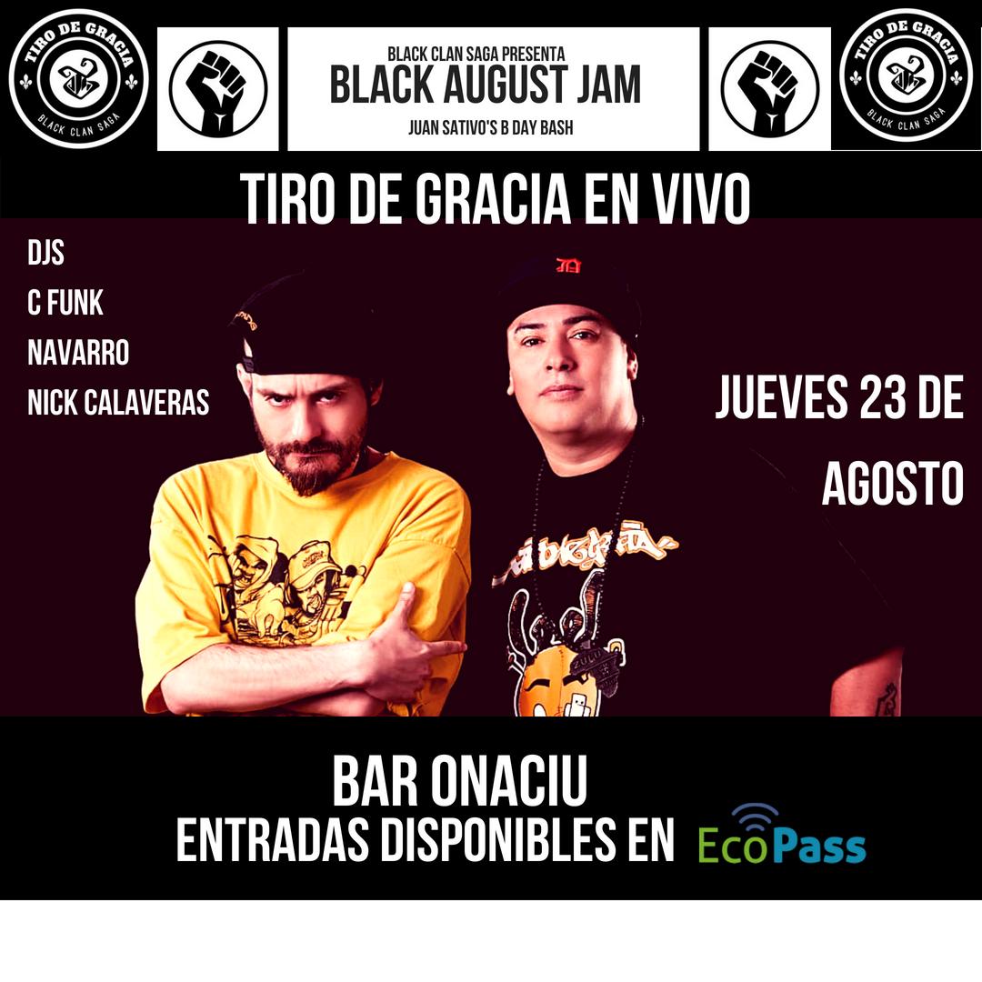 Black august jam  1