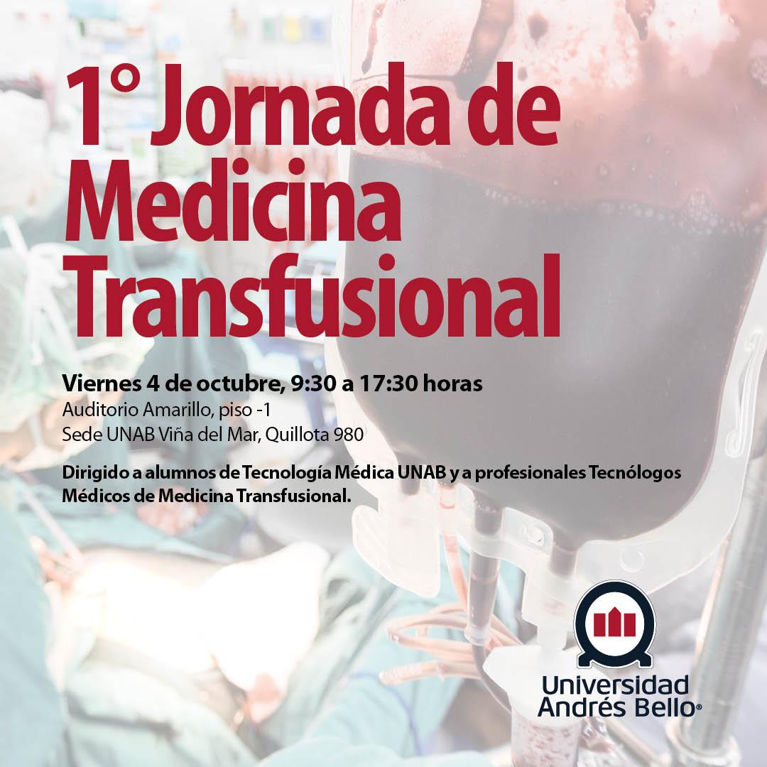 Redes sociales medicina transfusional
