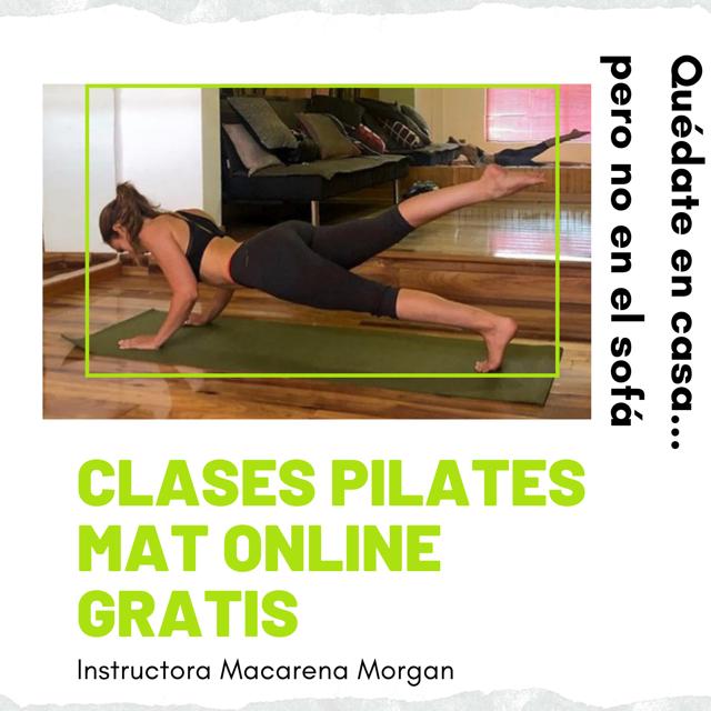 Clases pilates mat online gratis