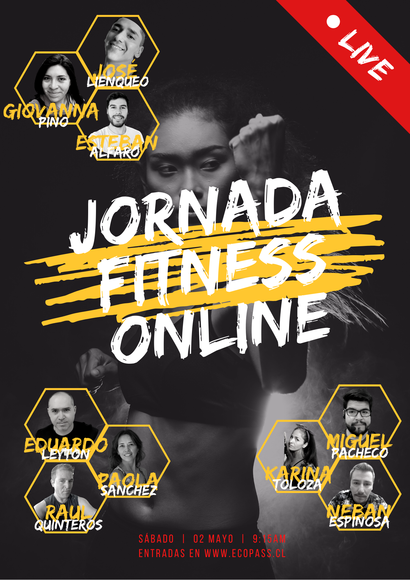 Flayer jornada fitness