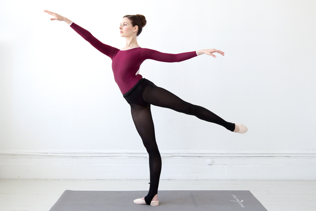 Ballet beautiful lunge lift ch